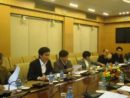 Thứ trưởng Cao Lại Quang phát biểu tại Hội nghị