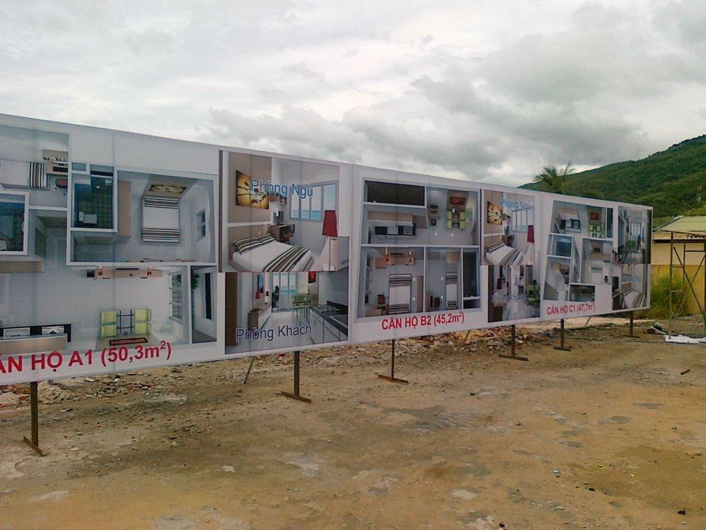 Ảnh: Dự án nhà ở thu nhận thấp Chung cư Hưng Thịnh, Tp. Quy Nhơn