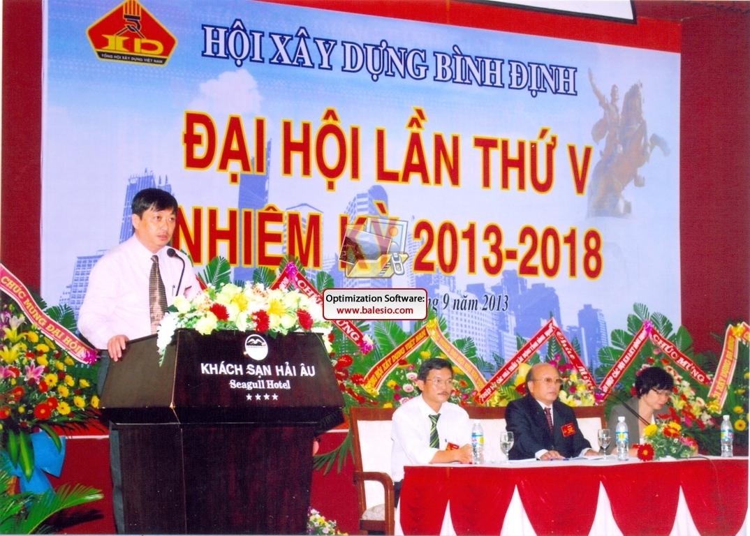 Đại hội toàn thể Hội Xây dựng Bình Định lần thứ V