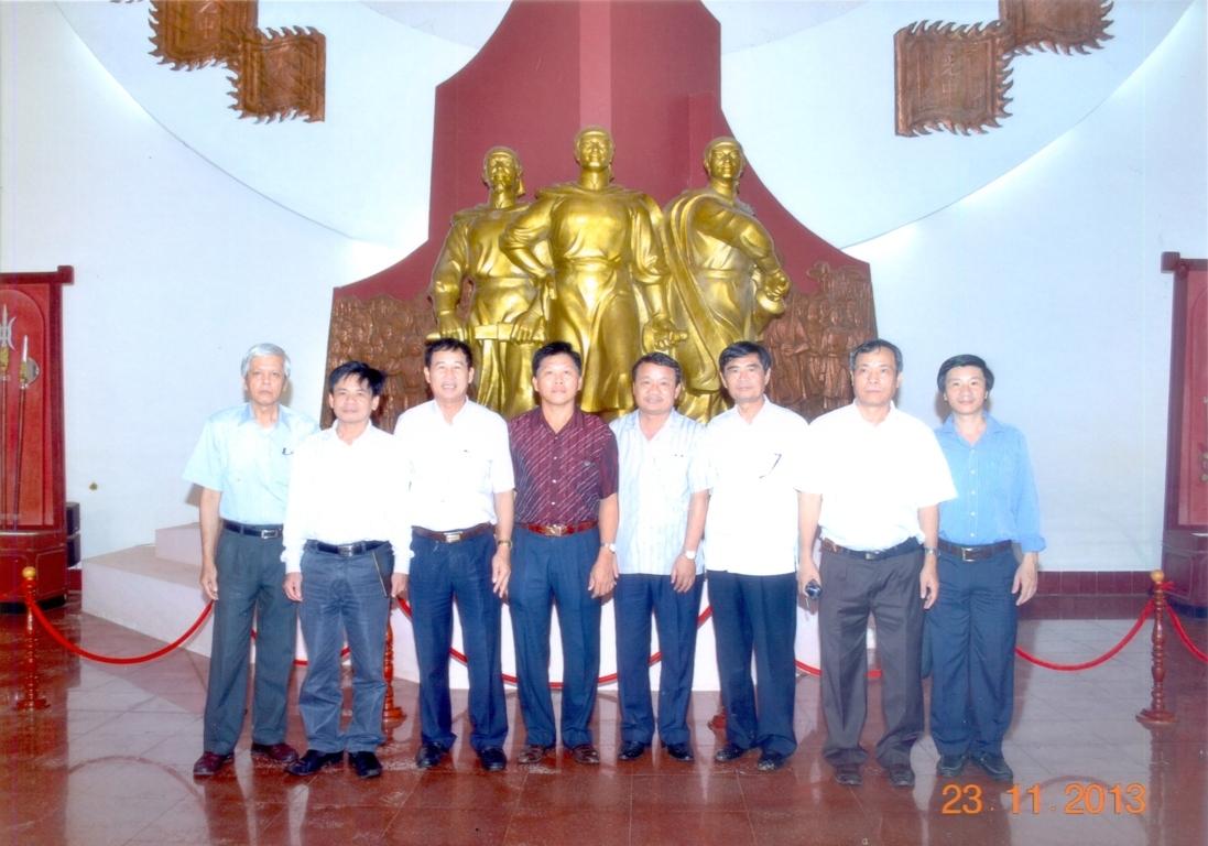đoàn khách Hội Xây dựng Đồng Nai