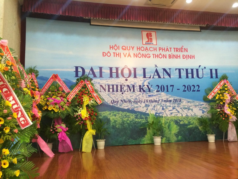 Đại hội Hội Quy hoạch phát triển đô thị và nông thôn Bình Định