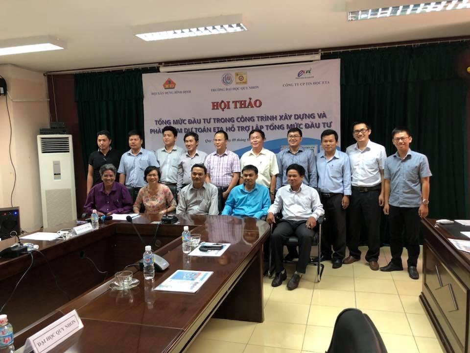 Hội thảo Tổng mức đầu tư và phần mềm hỗ trợ lập dự toán công trình
